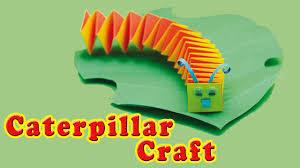 How To Make A Preschool Paper Caterpillar Craft