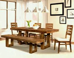Modern Dining Room Furniture Bench Home Design Set Ideas Collection Simple Table Designs Fresh Gallery Small