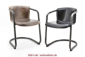 esszimmerstühle leder cool leder freischwinger stuhl daan