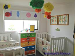 sesame street nursery sesame streets shared rooms and themed