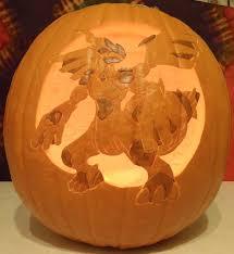 Pokemon Pumpkin Carving Templates by Zekrom Pokemon Pumpkin Carving Patterns Images Pokemon Images