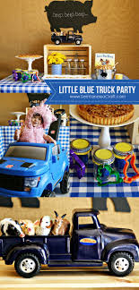 Party) Little Blue Truck Play Date With The Step2 Raptor | Kid ... Firetruck Party Decorations The Journey Of Parenthood A Party Studio Printable Supplies Ideas And Creativity Cstruction Truck Vixenmade Parties Monster Ideas At Birthday In Box Theme O2d5 Stay Home Ista Karas Themed 1st Trucks Turbocharged Discount Supplies Dig In Collection Fire Diys 3 Awesome For Kids Parties