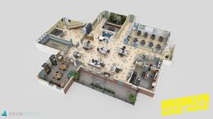 Check Out These 3D Floor Plans of the Sets for The fice