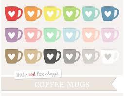 Coffee Mug Illustrations Creative Market Mugs Clipart Heart