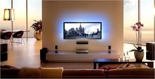 led hintergrundbeleuchtung tv wall mounted tv apartment