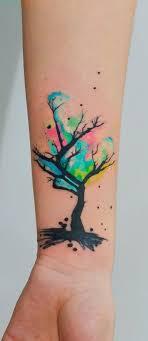 100 Most Beautiful Watercolor Tattoo Ideas