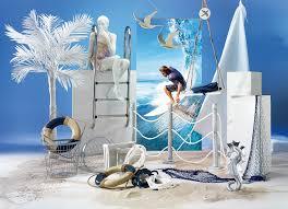 maritime deko ideen wie gefährliche haideko für seehotels