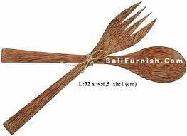 Coconut Wood Spoon Set