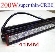 slim 20inch led light bar 200w 10w cree chips for car ip68