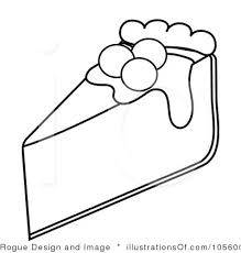 Cheesecake clipart black and white 1