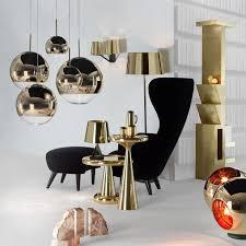mirror pendant pendelleuchte gold