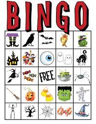 Free Halloween Potluck Signup Sheet by Halloween Printable Bingo Sheets U2013 Fun For Halloween