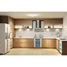 Attractive Kitchen Design C Shape Modular