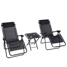 Outsunny 3pcs Reclining Folding Garden Zero Gravity Chairs Sun ... Anti Gravity Lounge Chairs Amazon Best Home Chair Decoration Garden Lounger Wido Saan Bibili Zero Recliner Outdoor Beach Patio Folding Sun Smart Living 2in1 Zero Gravity Lounger In B31 Birmingham For Pool Yard Top 10 Review 2019 Green Timber Ridge 2pcs Portable Rocking Recling Arm Rest Choice Products 2person Double Wide