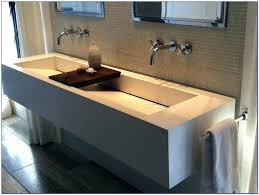 bathroom sink double faucet trough bathroom sink full size of