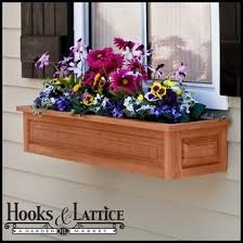 Wooden Window Boxes Flower Box Wood