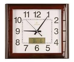 details zu wanduhr wohnzimmer wartezimmer bürouhr uhr digitale anzeige geräuschlos 40x35cm