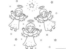 Christmas Nativity Coloring 2