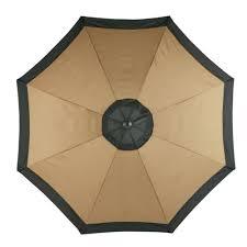 Garden Furniture Top View Market Umbrella O Inside Ideas