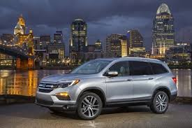 Luxury Suv With Second Row Captain Chairs by All New 2016 Honda Pilot The Fully Redesigned Three Row Honda Suv