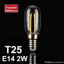 edison filament e14 2w candle lights t25 led light bulbs