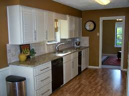 Kitchen Soffit Painting Ideas by Older And Wisor Painting A Tile Backsplash And More Easy Kitchen