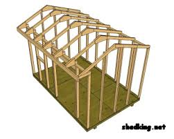 8x10 Saltbox Shed Plans by Insulated Dog House Plans Canada Diy Shed Plan How To Build A
