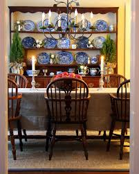 100 Dining Chairs Country English Style Welsh Dresser Windsor Chairs Blue Transferwarelove The Burlap