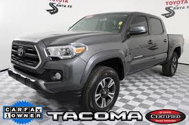 Certified Pre-Owned 2017 Toyota Tacoma SR5 Double Cab Truck In Santa ... Top Of The Line Toyota Tacoma Crew Cab Pickup Trucks For Sale New 2018 Specials Wichita Truck Purchase Lease Deals Cars And That Will Return Highest Resale Values Heres What It Cost To Make A Cheap As Reliable Craigslist Toyota 44 Luxury Used Lovely For Fresh Buy Ta Xtracab 2003 Xtracab Automatic At Kearny Mesa 2016 First Drive Autoweek Trd Offroad Double In Chilliwack Beautiful Near Me Enthill Auto And Car Model Sale Value 2013