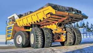 The Largest Dump Truck In The World In Action - 2