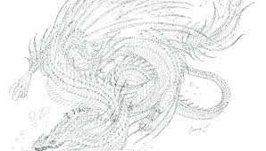 Printable Dragon Coloring Pages For Adults Night Fury