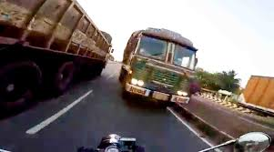 WATCH: Royal Enfield Rider Saved Just Inches Away From A Truck ... Afternoon Drive Truck Yeah 30 Photos Classic Trucks Magazine Ryder Rental For Sale Best Resource Knight Rider Semi Trailer Gta5modscom Plastic Linen Turnabout Low 48 Cubic Feet Bc Textile Cat End Wr30 United Equipment Scania R560 Tsu Jens Bode Ghost D Trucks Pinterest C10 Street Chevy Rider Suppliers And Manufacturers At Alibacom Powered Pallet Rp20n Rp2030 Hyster Pdf Living Trailer Roelofsen Horse Jack Raymond Riding Ghost Rider Skin For Rjl Ets2 Mods Euro Truck Simulator 2
