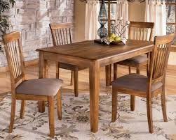 Rectangular Dining Table And 4 Side Chairs
