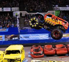 100 Monster Truck Horsepower New Venue Brings Familiar Results For Stop Two Of Hot Wheels Tour