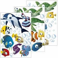 wandsticker unterwasserwelt wandtattoo für kinderzimmer