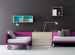 Modern Toddler Bed Purple The Holland Fun Ideas For Modern