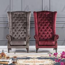 Accent Chair Fabric Modern American Eagle AE506-RED
