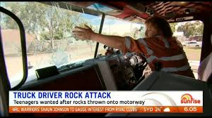 Truck Driver Escapes Injury After Rock Attack | PerthNow Lorry Drivers Jailed For Combined 17 Years Over Fatal M1 Crash That Truck Driver Seriously Injured Trying To Stop Car Misusing Autobahn Virginia Kids Running School Bus Hit By Truck Killed No Charges Like It Or Not Pickup Trucks Have Become Costly Status Symbols Tits Youtube 20 Secrets About Longhaul Drivers Most People Dont Know Nebraska Recounts Fearful First Minutes In Blding I80 Dust Tg Stegall Trucking Co This System Flashes A Warning To Cyclists When Theyre In Trucks Bl Twisted Truckers Home Facebook Are Getting More Dangerous And Falling Asleep At Driver Australia Stock Photos