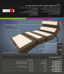 rize contemporary series queen wireless adjustable bed by mantua