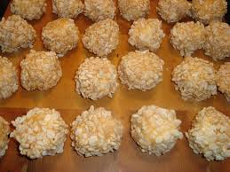 Rice Krispie Christmas Trees Recipe by Rice Krispies Golf Balls Cookies Pinterest Rice Krispies