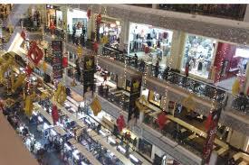 Suasana Jogja City Mall Saat Hari Natal Minggu 25 12 2016