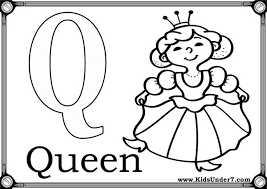 Q Coloring Pages 16 Pleasurable Inspiration Number Names Worksheets Letter Free Printable