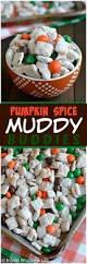 Pumpkin Spice Chex Mix With Candy Corn by Cinnamon Pumpkin Spice Muddy Buddies