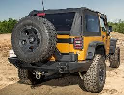 Jeep Jk Rugged Ridge Floor Liners by Amazon Com Rugged Ridge 11546 20 Textured Black Rear Xhd Bumper