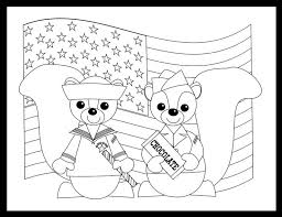 Veterans Day Coloring Pages Kindergarten Style To Print