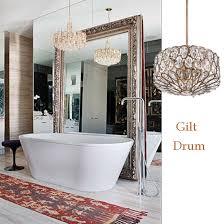 10 bathroom lighting ideas with crystal chandeliers ls plus