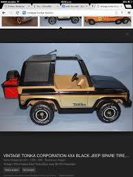 Vintage Tonka Jeep | Aquellos Días Felices | Pinterest