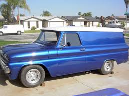 1960 - 1966 Chevy Panel Trucks Only - The 1947 - Present Chevrolet ...