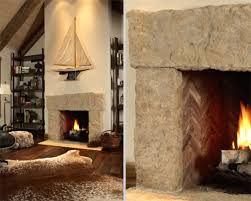 Stone Fireplace Surround Living Room Rustic With None Image By Murphy Co Design