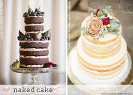 If You Like A More Rustic Look Then Naked Cakes Could Be Right Up Your Alley These Beauties Are So Called Because They Left Un Iced Along The Sides Of
